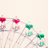 Ferris Wheel. Vintage Carnival — Stock Photo