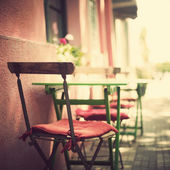 Vintage Coffee Shop — Stock Photo