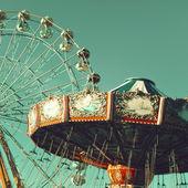 Vintage Ferris Wheel — ストック写真