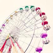 Ferris Wheel. Vintage Carnival — Stock Photo