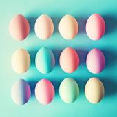 Pastel Easter Eggs — Stock Photo