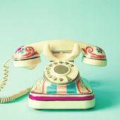 Retro phone — Stock Photo