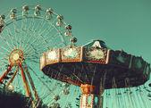 Vintage Ferris Wheel — Stock Photo