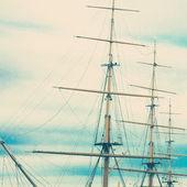 Stožár starých lodí — Stock fotografie