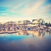 Vintage Sea port — Zdjęcie stockowe