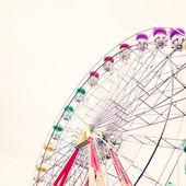 Колесо обозрения. старинный карнавал — Стоковое фото