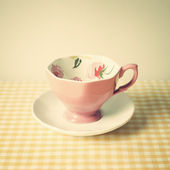 Vintage coffee cup — Stock Photo