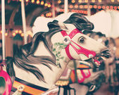 Vintage Carousel Horse — Stock Photo