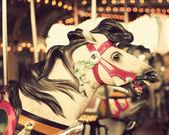 Vintage Carousel Horse — Stock Photo