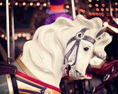 Vintage Carousel Horse — ストック写真