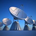 Parabolic dish — Stock Photo #51362905