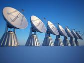 Radio telescope — Stock Photo