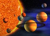 Solar system — Zdjęcie stockowe