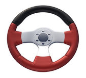 Red Racing Wheel  — Stock Photo