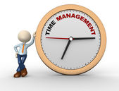 """Tempo de gestão"""" — Fotografia Stock"""