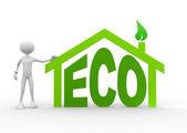 Concetto di eco — Foto Stock