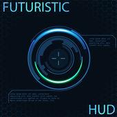 未来派 hud — 图库矢量图片