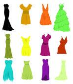 Women cloths — Stock Vector