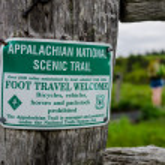 Appalachian National Scenic Trail Sign — Stock Photo #51063521