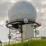 Doppler Radar Weather Station — Stock Photo #51311241