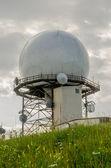 多普勒天气雷达气象站 — 图库照片