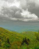 Clouds Over the Blue Ridge Mountains — Stockfoto