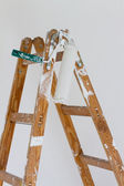 Painters Roller on a Ladder — Stock Photo