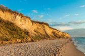 Cliff Coast of Ahrenshoop — Stock Photo