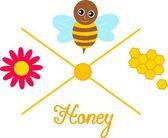 Production de miel — Photo