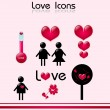 Love Icons — Stock Photo #51131805