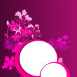 Pink background with two circle — Stock Photo #51186947