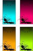 Colored templates — Stock Photo