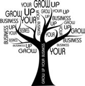 Grow Up Your Business — Stock Photo