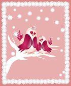 Love birds — Fotografia Stock