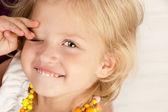 Veselá holčička — Stock fotografie