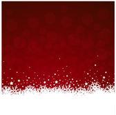 Kerstmis sneeuwval — Stockvector