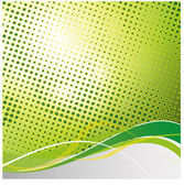 Modern green background — Stock Vector