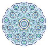 Ronde sier geometrisch ontwerp — Stockvector