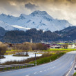 Spring landscape in the Swiss Alps. — Stock Photo #50889277