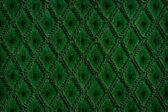 Green colored wool textile — Stock Photo