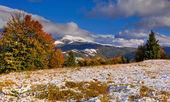 山の秋の風景 — ストック写真