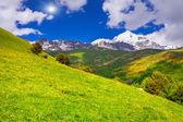 Georgian Mountains — Stock Photo