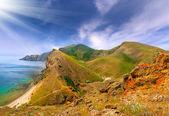 Summer landscape in the Crimea — Stock Photo