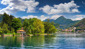 View of Lake Lugano — Stock Photo