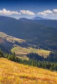 Autumn landscape in the Carpathian mountains. — Stock Photo