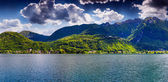 View of Lake Lugano, Switzerland — Stock Photo