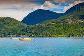 View of Lake Lugano — Stockfoto