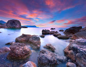 Colorful summer seascape — Stock Photo