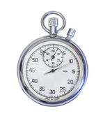 Old mechanical russian stopwatch — Stock Photo