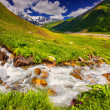 Fantastic landscape with a river in the mountains. — Stock Photo #50891799